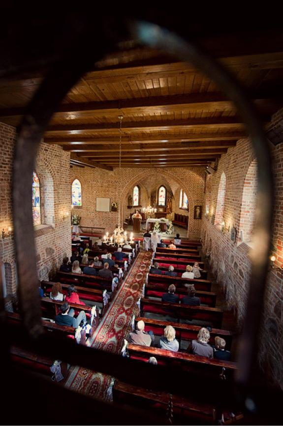 Ceremonia Ślubna w Starym Kościele