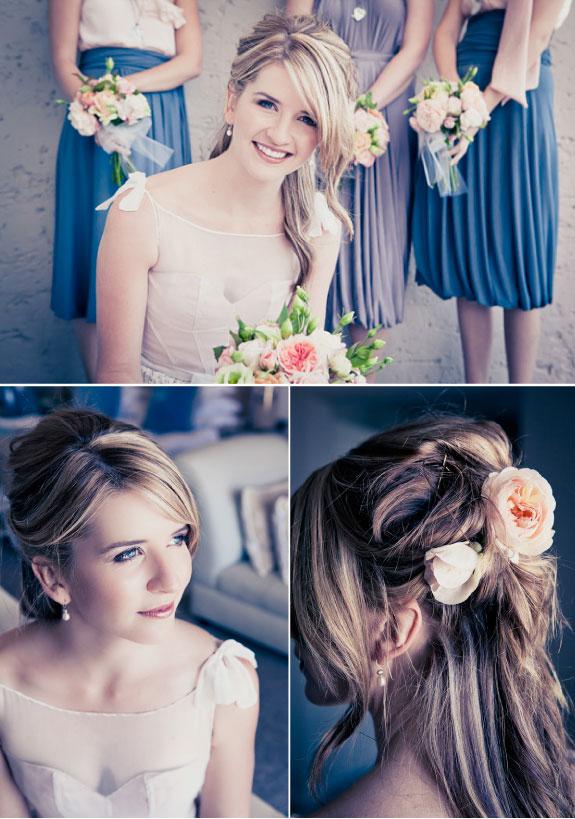Żywe Kwiaty We Włosach Na Ślubie