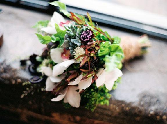 Piękny Bukiet Ślubny