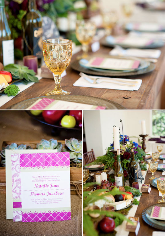 Nowoczesne Zaproszenia Ślubne i Piękna Dekoracja Stołów