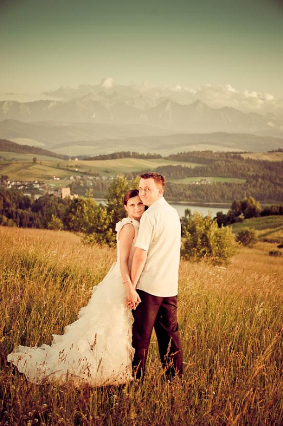 Zdjęcia Ślubne na Tle Gór