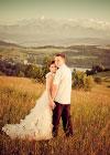 Wasze Śluby: Basia i Marek: Romantyczna Sesja w Tatrach