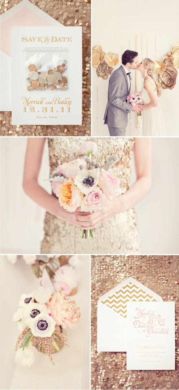 Błyszczący Ślub w Sylwestra