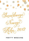 Szczęśliwego Nowego Roku 2012