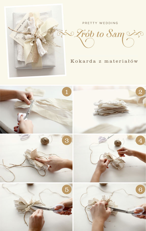 Jak zrobić kokardę na prezent
