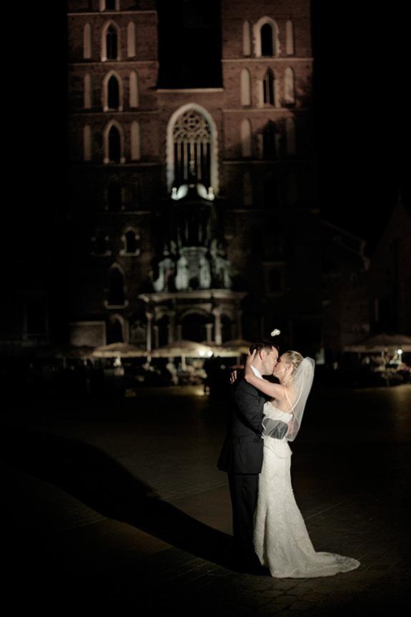 Romantyczna Sesja Zdjęciowa na Rynku w Krakowie