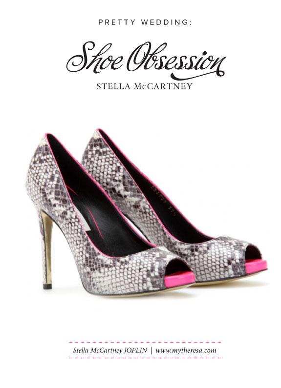 Buty na Wesele Z Elementami Różu