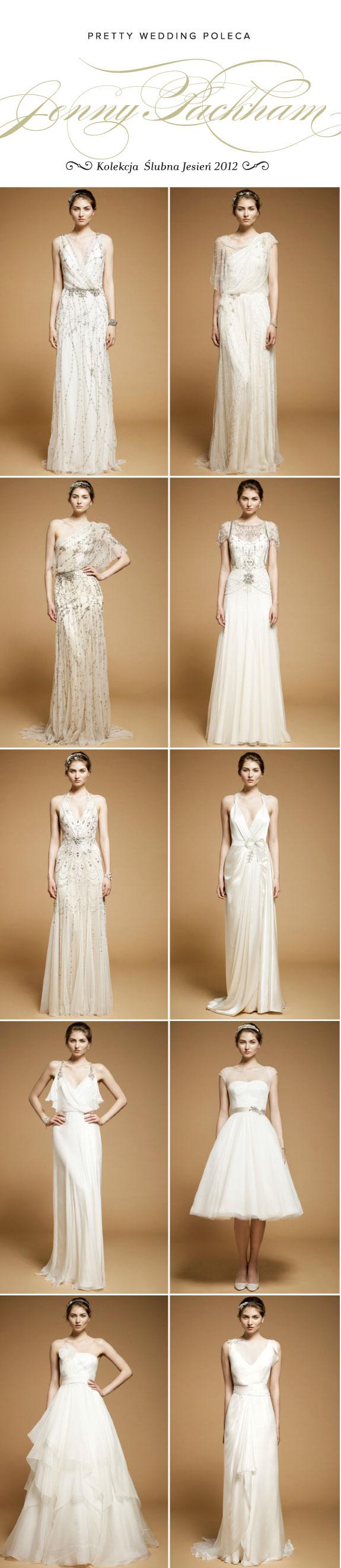 Suknie Ślubne 2012, Kolekcja Jenny Packam
