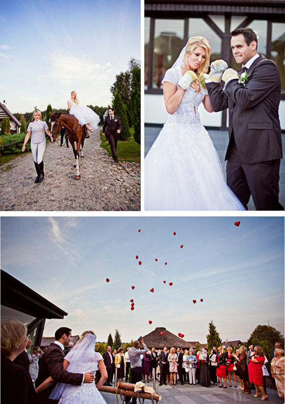 Zdjęcia Ślubne na Koniu, Zdjęcia na Ranczu