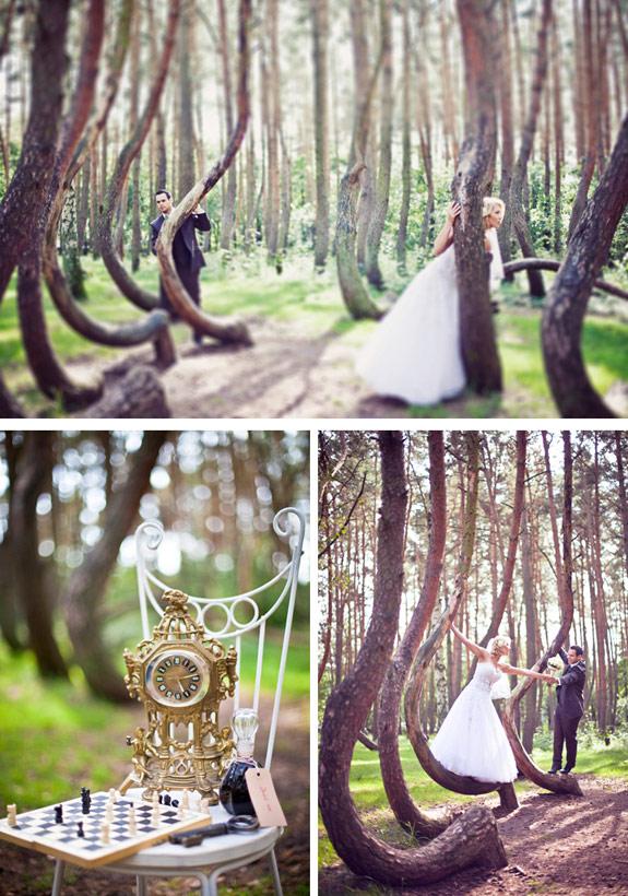 Stylizowany Plener Ślubny