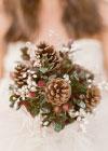 Inspiracja Ślubna: Zimowy Ślub i Szyszki