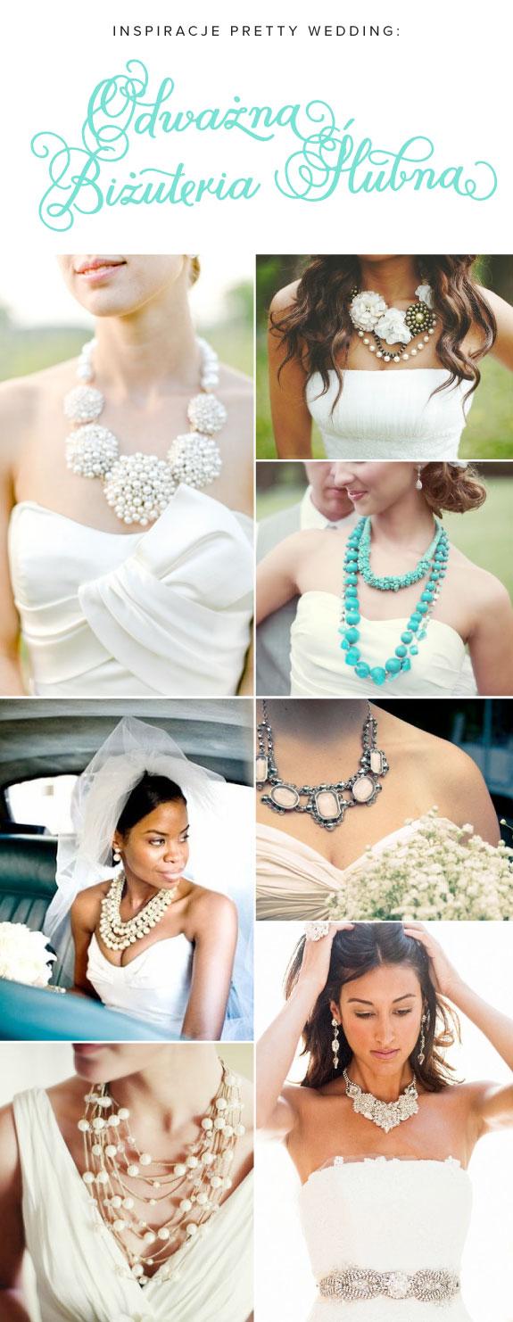 Biżuteria Ślubna dla Odważnych Pań Młodych