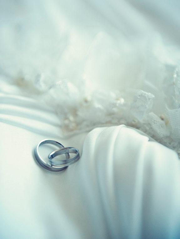 Obrączki na ślub z białego złota