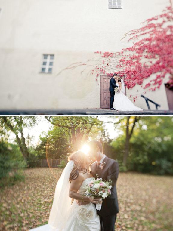 Piękne ujęcia na zdjęciach weselnych