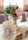 Ślub w Stylu Vintage w Odcieniach Różu i Fioletu