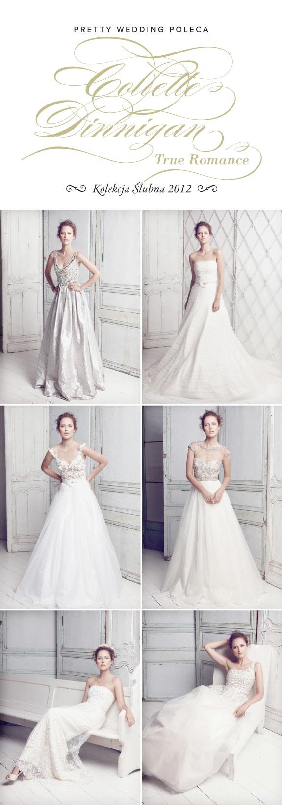 Suknie Ślubne na Sezon 2012 z Kolekcji Collette Dinnigan - True Romance