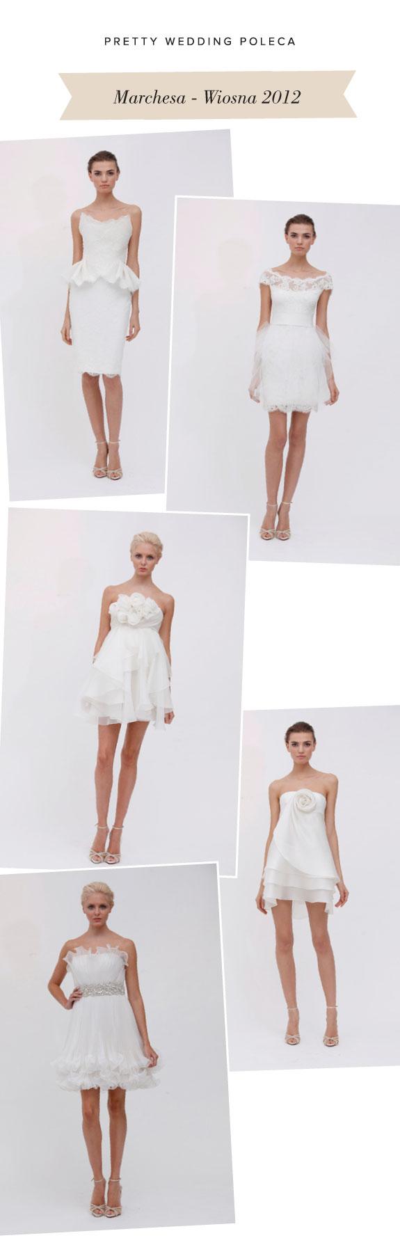 Kolekcja Sukien Ślubnych Na Lato - Marchesa 2012