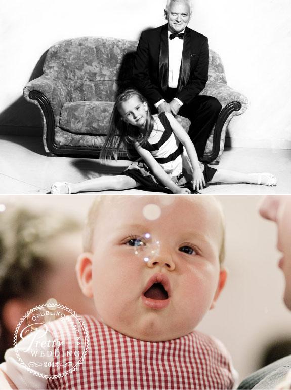 Zdjęcia Dzieci na Weselu, Bańki Mydlane