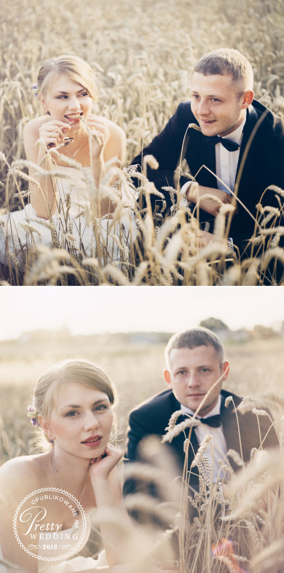 Ślubne Zdjęcia w Pszenicy