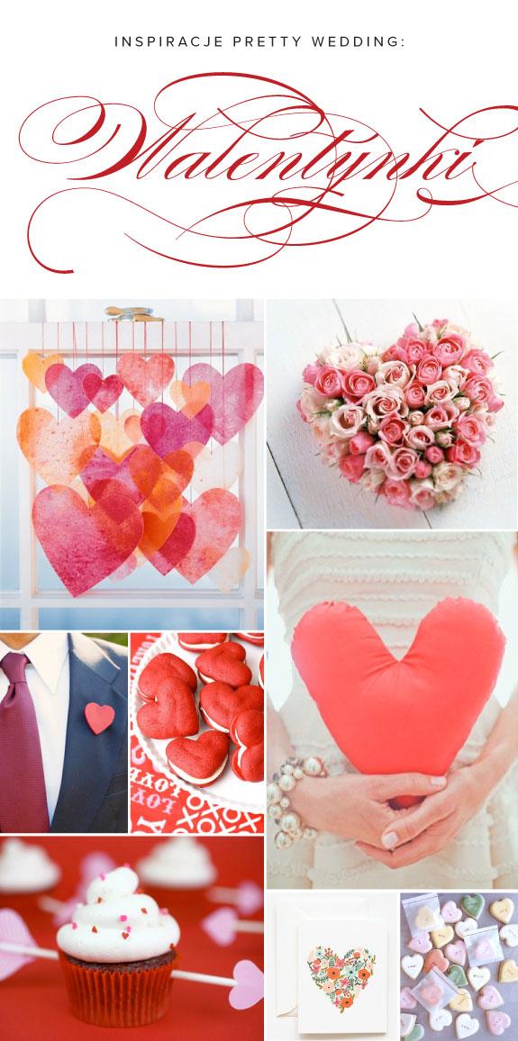 Pretty Wedding Walentynkowe inspiracje