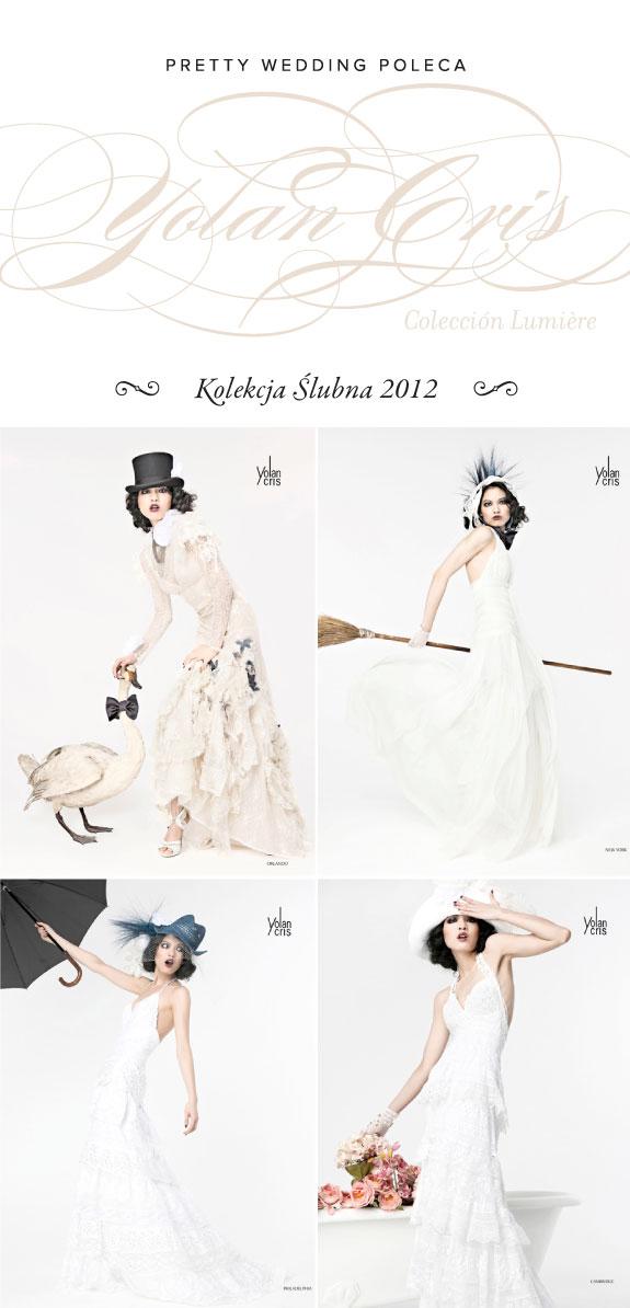 Kolekcja Sukien Ślubnych Yolan Cris Collection Lumiere