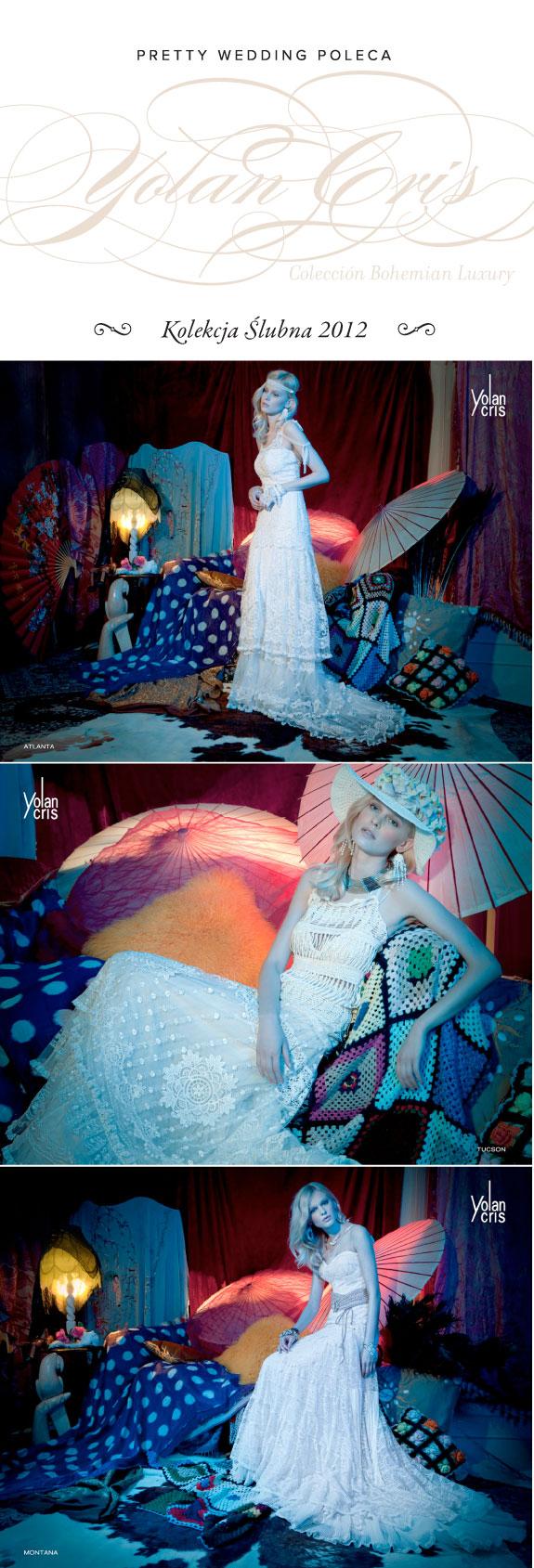 Suknie Ślubne z Kolekcji Bohemian Luxury Na Sezon 2012