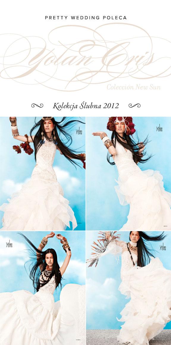 Suknie Ślubne 2012 Yolan Cris Kolekcja New Sun