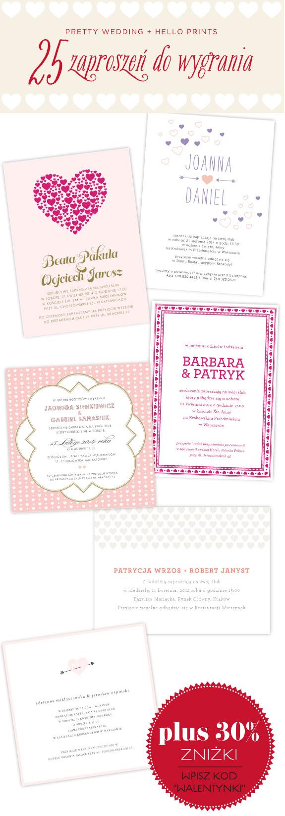 Eleganckie i Wyjątkowe Zaproszenia Ślubne z Motywem Serca
