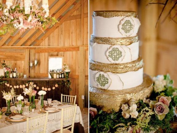 Tort Ślubny w Stylu wiejskim