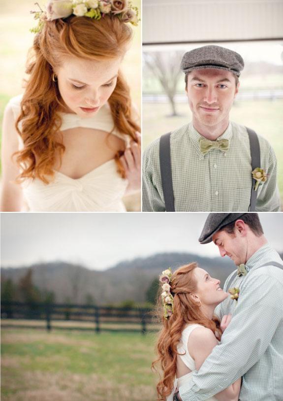 Wesele w stylu wiejskim, ślub na farmie
