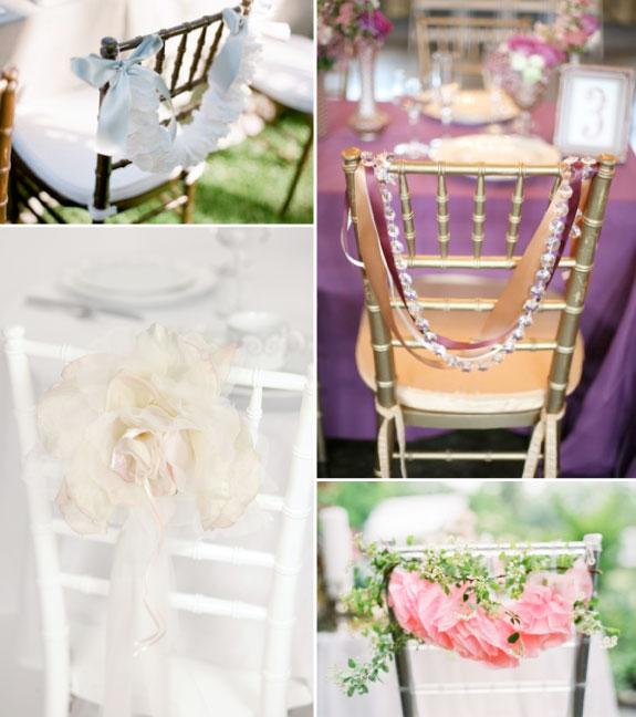 Dekoracja stołów weselnych - wstążki i eleganckie materiały