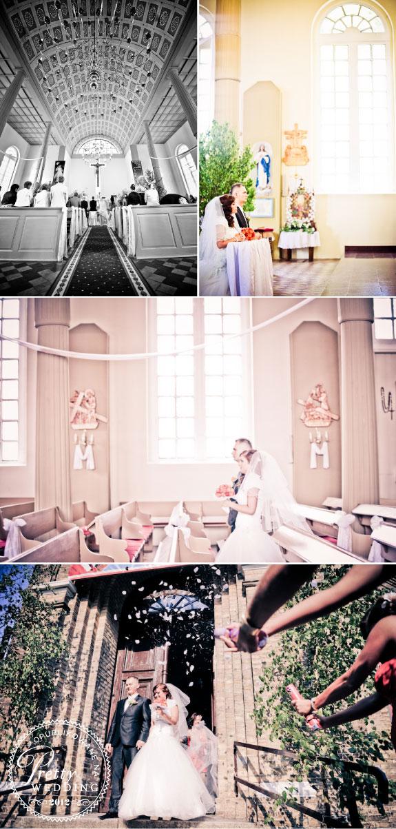 Piękne i klimatyczne zdjęcia kościoła przed ślubem