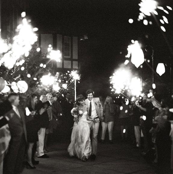 Fajerwerki na weselu jako atrakcje weselne