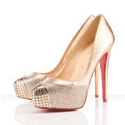 Shoe Obsession, Błyszczące złote Louboutiny