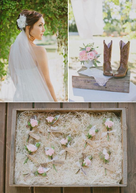 Dodatki weselne w różowym kolorze