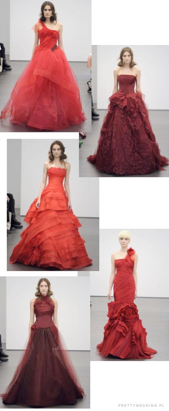 Romantyczne i uwodzicielskie suknie ślubne Very Wang