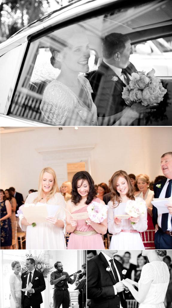 Intymny ślub, w drodze do kościoła