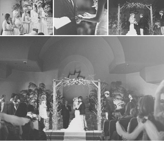 ceremonia ślubna w stylistyce bohemian