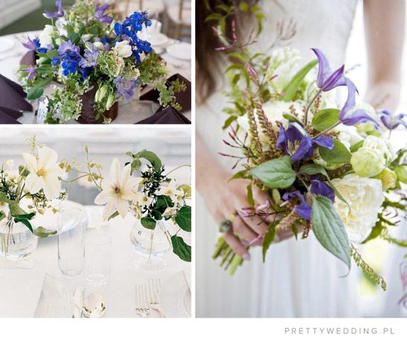 Przykłady dekoracji kwiatowych na ślubie i weselu
