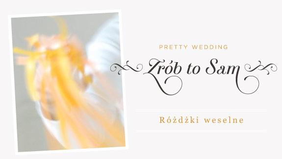 Zrób to sam: różdżki weselne