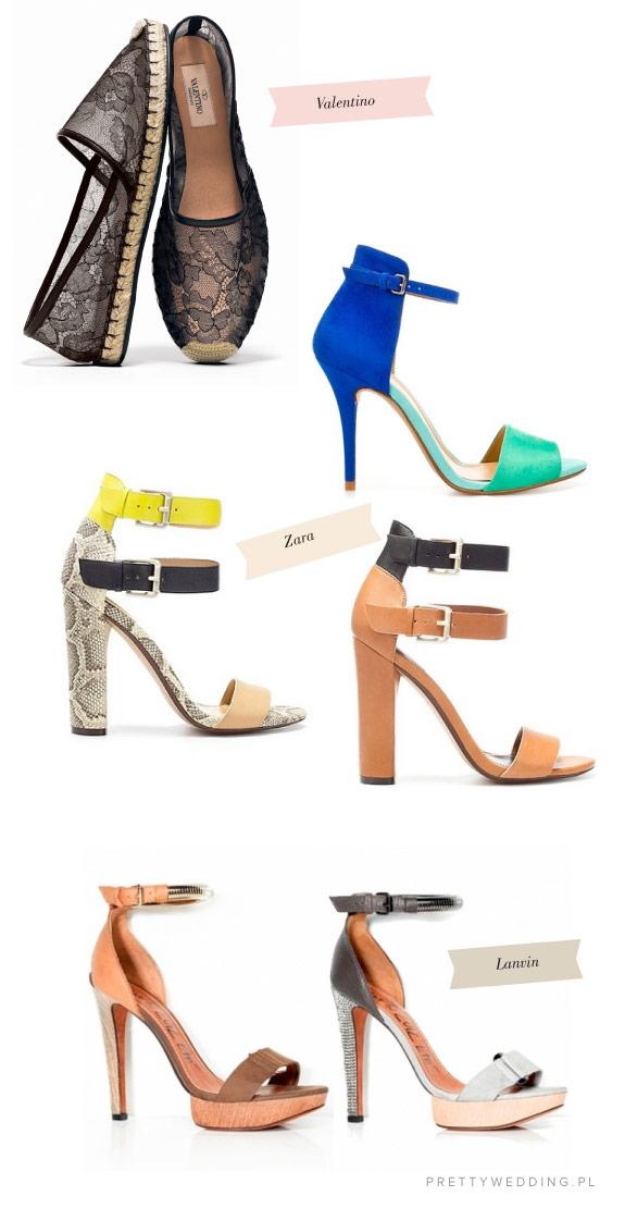 Buty dla odażnych, letnie propozycje butów ślubnych