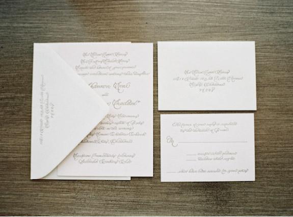 Klasyczne i proste zaproszenia ślubne