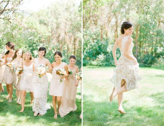 Ślub jesienią pomysł na zdjęcia plenerowe