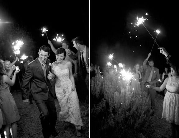 Zdjęcia ślubne wykonywane nocą