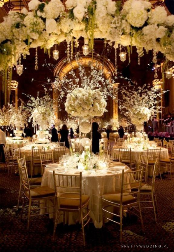 Wyjątkowe dekoracje okrągłych stołów