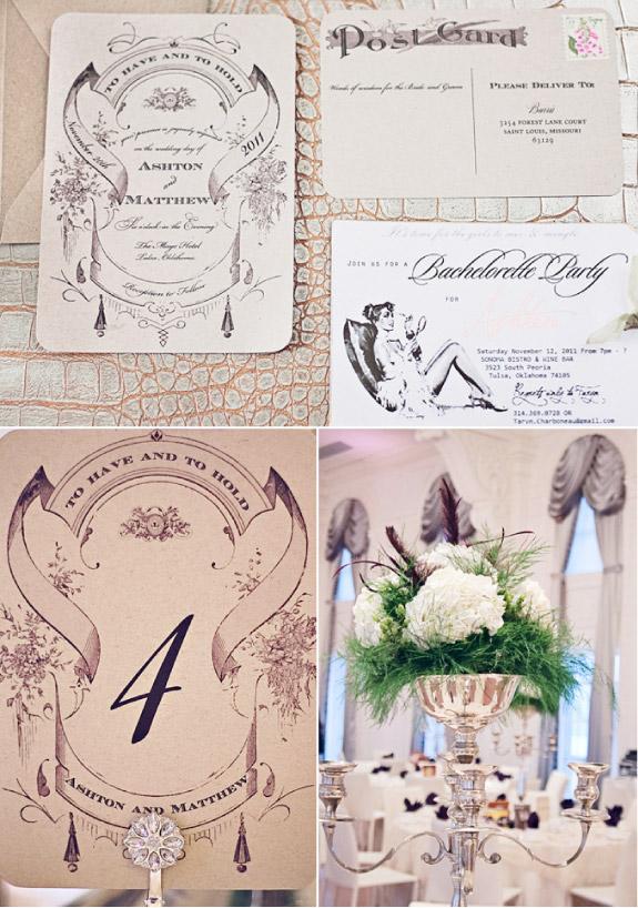 zaproszenia ślubne vintage, niezwykłe i wyjątkowe zaproszenia