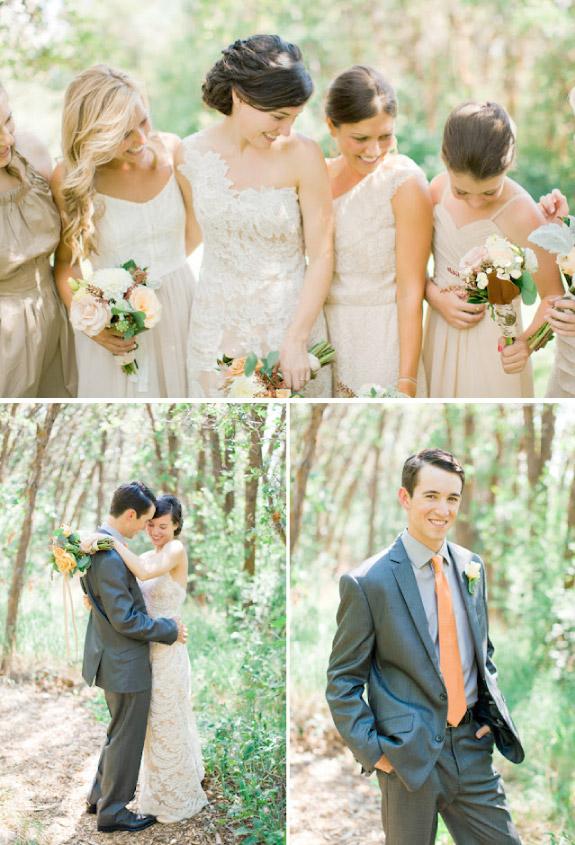 Jesienny ślub na ranczo