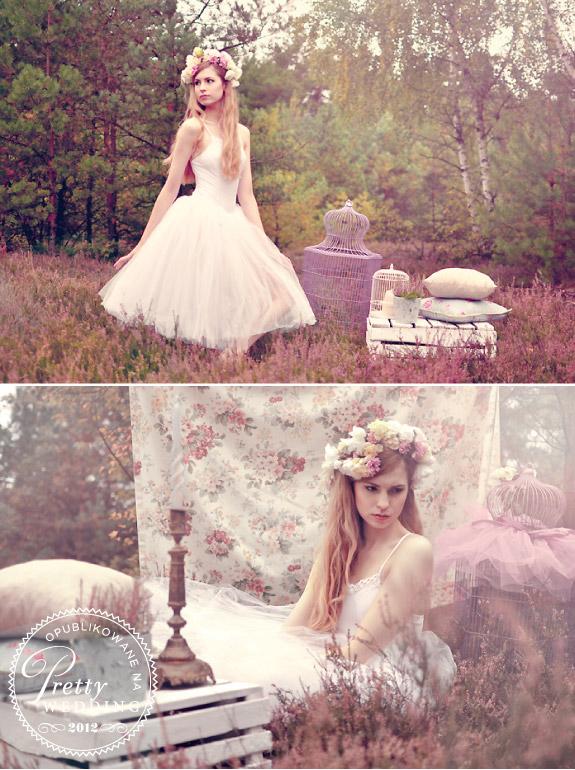 Stylizacja ślubna Agnieszki Siemińskiej w stylu vintage