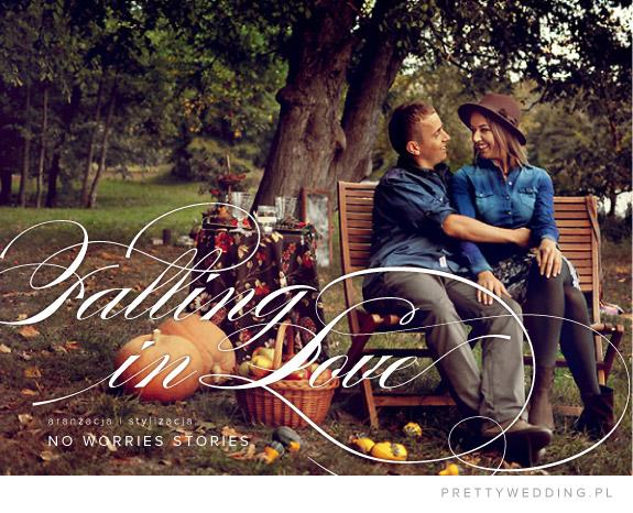 Jesienna sesja zaręczynowa
