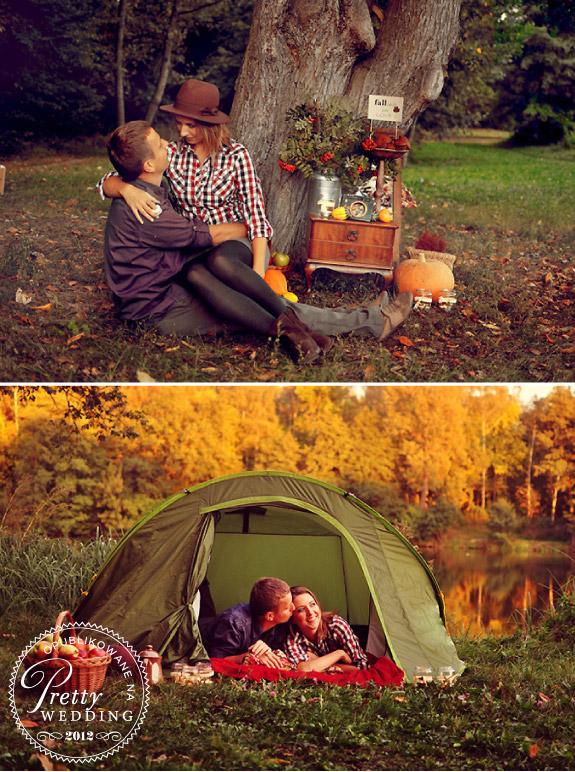No Worries Stories - zdjęcia w ogrodzie i namiocie